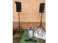 FENDER PASSPORT 069-1002 MAX 500W PORTABLE SOUND PA SYSTEM