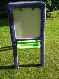 Chalk board, painting easel & whiteboard