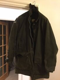 Barbour Tartan Wax Jacket Classic Northumbria green 42 inch