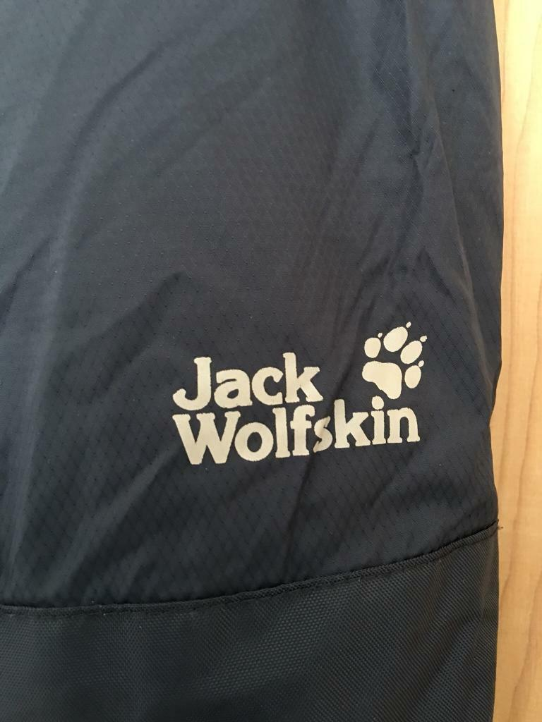 Kids Wolfskin Ski Pants 23 Inch Waist 92 Cm Length From