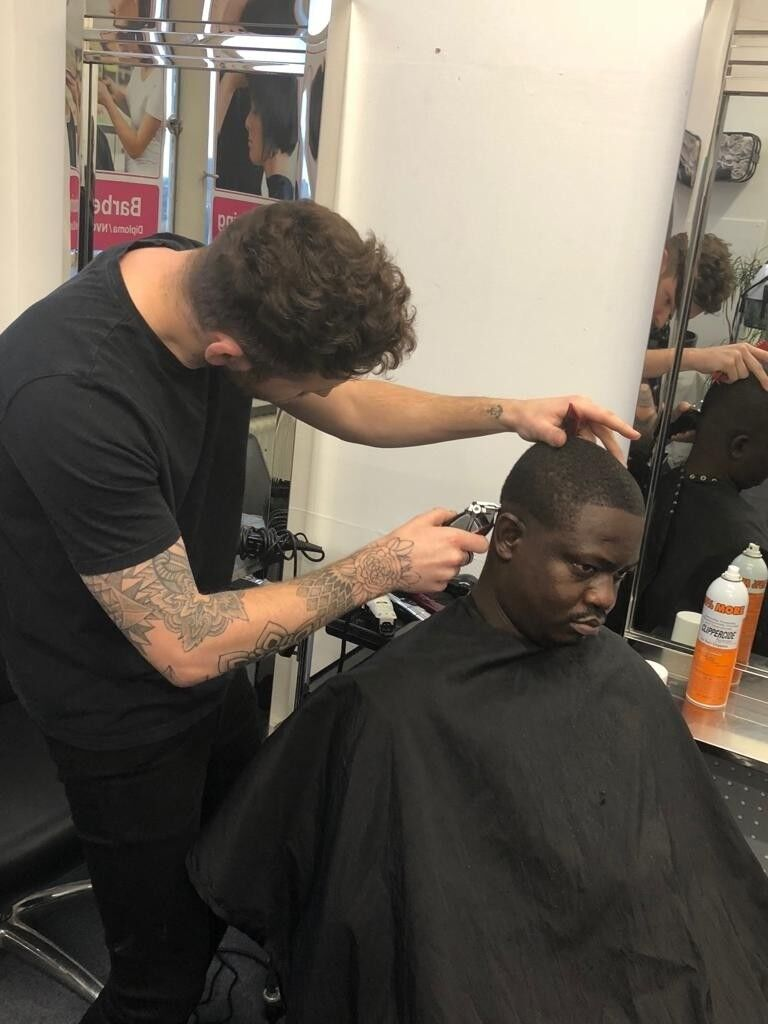 Afro Caribbean Barbering Course Allskins School Of Hair And Beauty