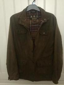 Ladies Wax Barbour Jacket Size 10/12