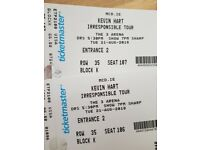 2 x Kevin Hart irresponsible tour tickets