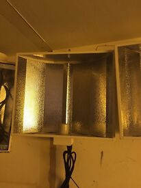 Cheshunt Hydroponics Store - used reflector shade for grow light