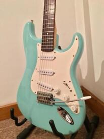 Strat squier sea foam green