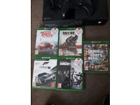 Xbox one 5 games online headset with 1tb extra memery perfect working viewing welcome £150