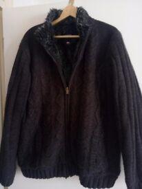 Kangol knitted jacket