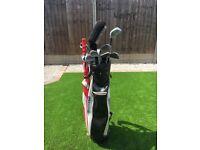 Set of golf clubs + bag