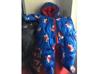 Brand new Next snowsuit 0 to 3 months