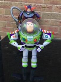 Buzz Lightyear and zurg