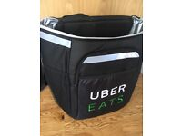 Uber eats large delivery bag small delivery bag. Brand new never used