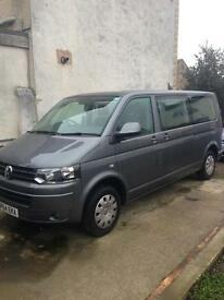 Vw transporter shuttle tdi se 140bhp