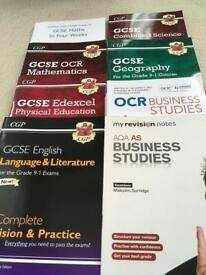 School GCSE revision guides