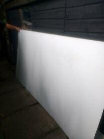 7 wooden window frame quarter plate glass+ 6 aluminum sheets 8x4 £80 ONO