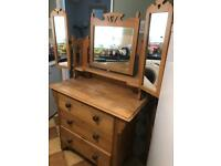 Old dressing chest