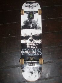 Hardly used Poison Skateboard
