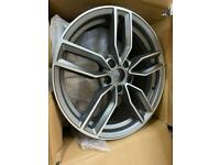 916 new 5x112 Audi alloys grey with polished face VW Volkswagen SEAT Skoda