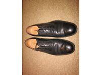 Men's Brogues, Black, Size 11 UK, Italian Leather
