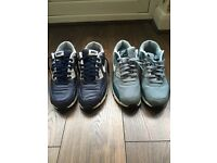 2 pairs of Nike air max 90 men's trainers