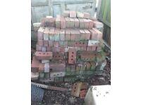 Unused bricks, 10p a brick cash on colletion, Petts Wood