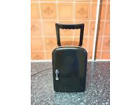 Mini Fridge, Black 4ltr - Excellent working condition