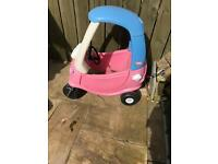 Little tikes pink car