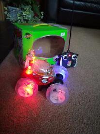 Turbo Twister Lunar stunt car with lights