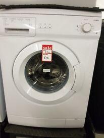 Brand New ESSENTIALS C510WM14 Washing Machine - White