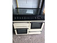 Cream Leisure Range Cooker Dual Fuel Beautiful Condition Fully Working £245 Sittingbourne