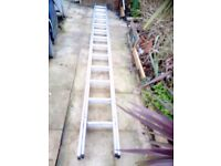 Extension 2 section ladder 2x 3.5 m