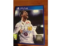 PS4 game Fifa 2018