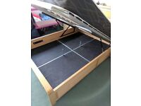 Double Bed Frame with underbed Storage