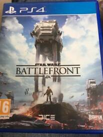 Star Wars BattleFront PS4 £5