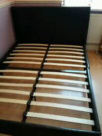 Brown double bed still for sale