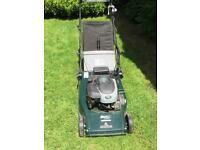 Hayter 48 petrol electric start lawnmower
