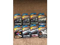Hotwheels fast and furious cars