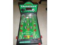 Football Pentaly shootout pinball machine
