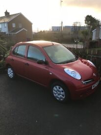 Nissan Micra only 18000 miles from new