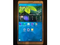 Samsung Galaxy Tab S SM-T700 in white 16GB (WiFi only)