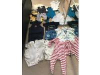 AGE 3/6 MONTHS SELECTION OF BABY CLOTHES