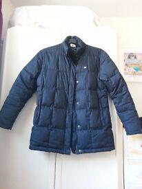 Lacoste Black Puffa Jacket Unisex Ski Size 38