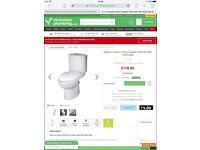 Basin unit and toilet BRAND NEW still in the box RRP £240