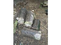 Victorian Yorkshire stone copings