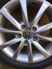 "Honda Civic 16"" alloy wheel"