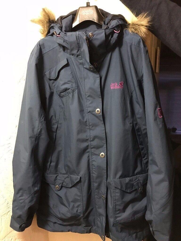 Women's Jack Wolfskin long jacket, worn once