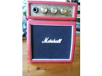 Marshall MS-2R micro guitar amplifier