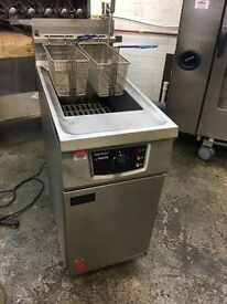 Falcon Fastron Infinity G2845F Pre-Mix Gas Fryer (Natural Gas) built in oil filteration