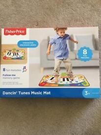 Dancing tunes play mat
