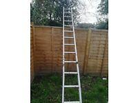 12ft aluminium single run ladder