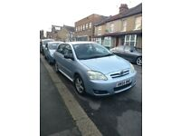 TOYOTA COROLLA 1.6 - VVT-i T3 5dr - Perfect Condition - Low Mileage - Taxed - £1500